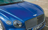 Bentley Continental GT 2018 Autocar road test review front end
