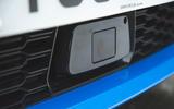 BMW 1 Series 118i 2019 road test review - ADAS sensor
