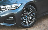 BMW 3 Series 320d 2019 Road Test review - alloy wheels