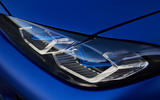 6 BMW i4 M50 2021 first drive review headlights