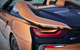 BMW i8 Roadster 2018 review seat butresses