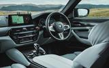 BMW M5 2018 review cockpit