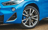 BMW X2 M35i 2019 road test review - alloy wheels