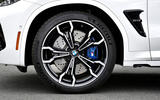 BMW X3 M Competition 2019 review - alloy wheels