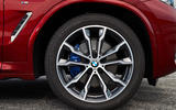 BMW X4 2018 road test review alloy wheels