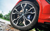 BMW X4 M Competition 2019 road test review - alloy wheels