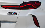 BMW X6 M Competition 2020 road test review - rear lights