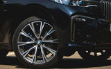 BMW X7 2020 road test review - alloy wheels