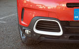 Citroen C5 Aircross 2019 road test review - front bumper