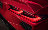 Corvette Stingray C8 2019 road test review - rear lights