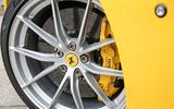 Ferrari 812 Superfast 2018 road test review brake calipers