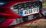 Ford Focus ST-line X 2019 road test review - front grille