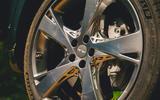 6 Genesis GV80 2021 road test review alloy wheels