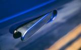 Honda e 2020 road test review - door handle