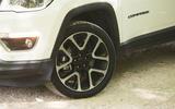 Jeep Compass 2018 highway exam examination - amalgamate wheels