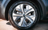 Kia e-Niro 2019 road test review - alloy wheels