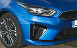 Kia Proceed GT-Line 2019 road test review - front bumper