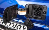 Kia Soul EV 2019 European first drive - charging port