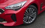 Kia Stinger GT line 2018 review front end