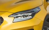 Kia Xceed 2019 road test review - headlights