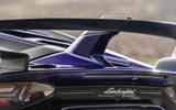 Lamborghini Aventador SVJ 2019 road test review - spoiler