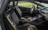 Lamborghini Huracan EVO RWD 2020 road test review - interior