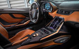 6 lamborghini sian 2021 uk first drive review cabin