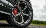 Lamborghini Urus 2019 road test review - alloy wheels
