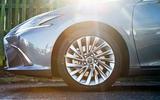 Lexus ES 2019 road test review - alloy wheels