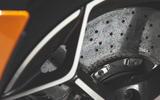 McLaren 600LT Spider 2019 road test review - brake disks