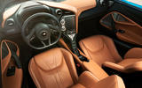 McLaren 720S Spider 2019 road test review - cabin