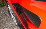 McLaren Senna 2018 road test review - wheel arch aero