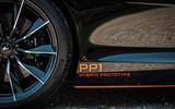 McLaren Speedtail 2020 UK first drive review - prototype badge