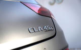 Mercedes-AMG CLA 45 S 2019 road test review - rear badge