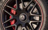 Mercedes-AMG G63 2018 review brake calipes
