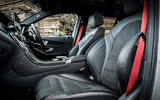 Mercedes-AMG GLC 43 road test review - cabin