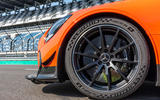 Mercedes-AMG GT Black Series road test review - alloy wheels