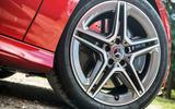 Mercedes-Benz CLA 2019 road test review - alloy wheels