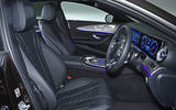 Mercedes-Benz CLS 400d 2018 review cabin