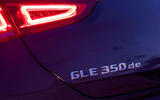 Mercedes-Benz GLE Coupe 2020 road test review - rear badge