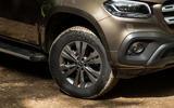 Mercedes-Benz X-Class road test review alloy wheels