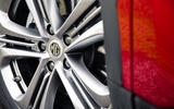 MG HS 2019 road test review - alloy wheels