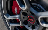 Mini JCW GP 2020 road test review - brake calipers