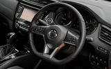 Nissan X-Trail road test review - steering wheel