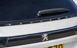 Peugeot 508 SW Hybrid 2020 road test review - rear badge