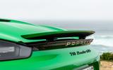 Porsche 718 Boxster GTS 4.0 2020 road test review - spoiler