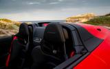 Porsche 911 Speedster 2019 review - seats