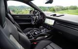 Porsche Cayenne Coupé 2019 review - cabin
