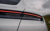 Porsche Taycan 2020 road test review - rear lights