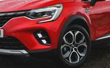 Renault Captur 2020 road test review - alloy wheels